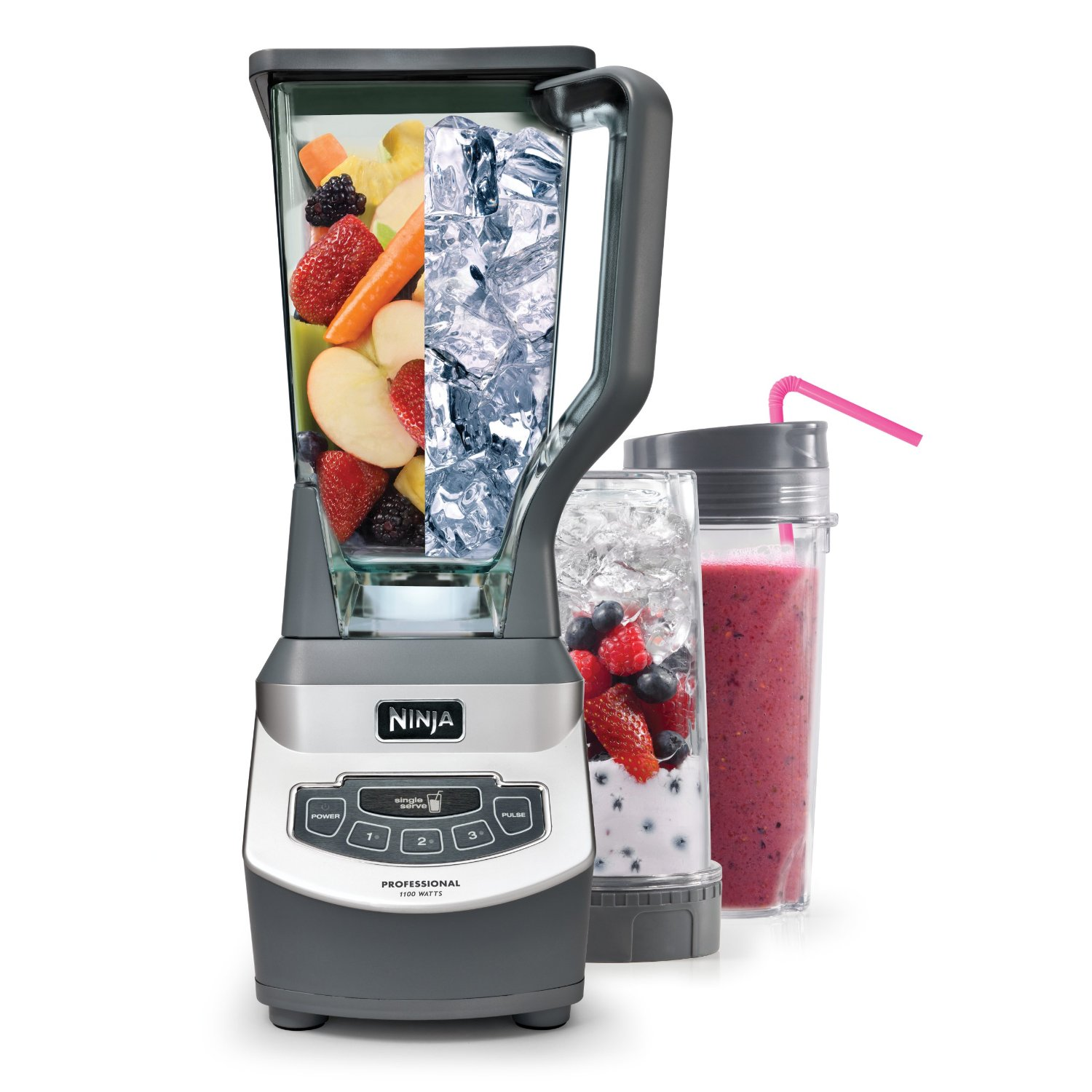 Best Blender: Ninja Professional Blender with Single Serve Blending Cups   Life Products and Guides